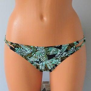 Volcom Sea Glass Bikini Bottom NWT